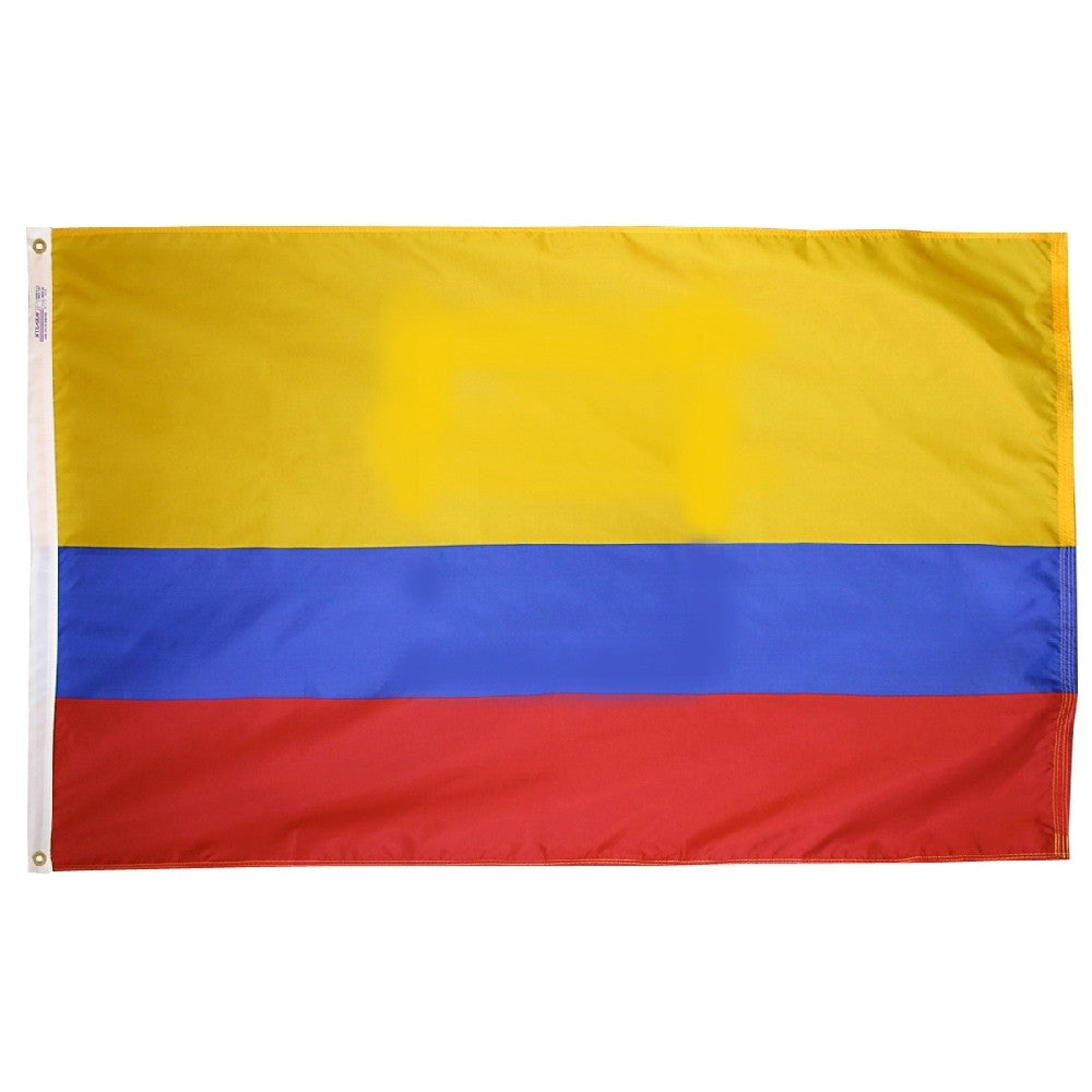 "Ecuador Courtesy Flag 12"" x 18"" - ColorFastFlags 
