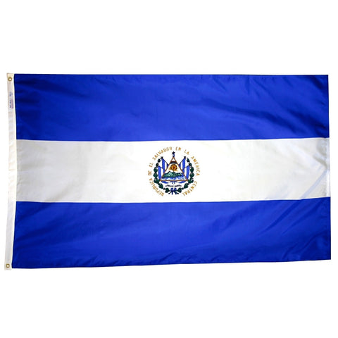 El Salvador Government Flag - ColorFastFlags | All the flags you'll ever need!