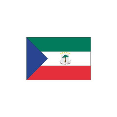 Equatorial Guinea Civil Flag - ColorFastFlags | All the flags you'll ever need!