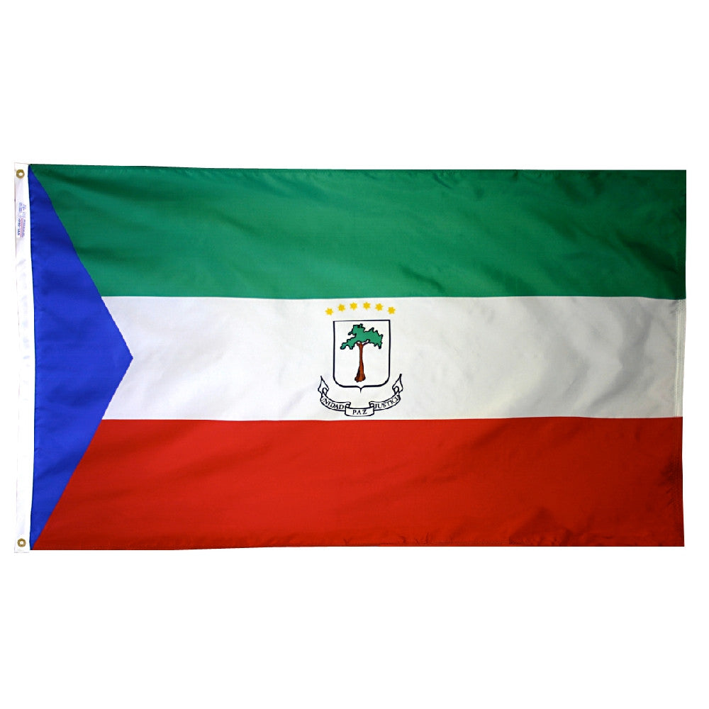 Equatorial Guinea Government Flag - ColorFastFlags | All the flags you'll ever need!