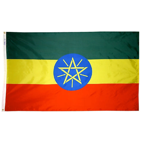 Ethiopia Flag - ColorFastFlags | All the flags you'll ever need!