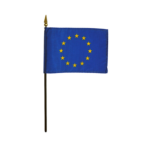 Miniature European Union Flag - ColorFastFlags | All the flags you'll ever need!
