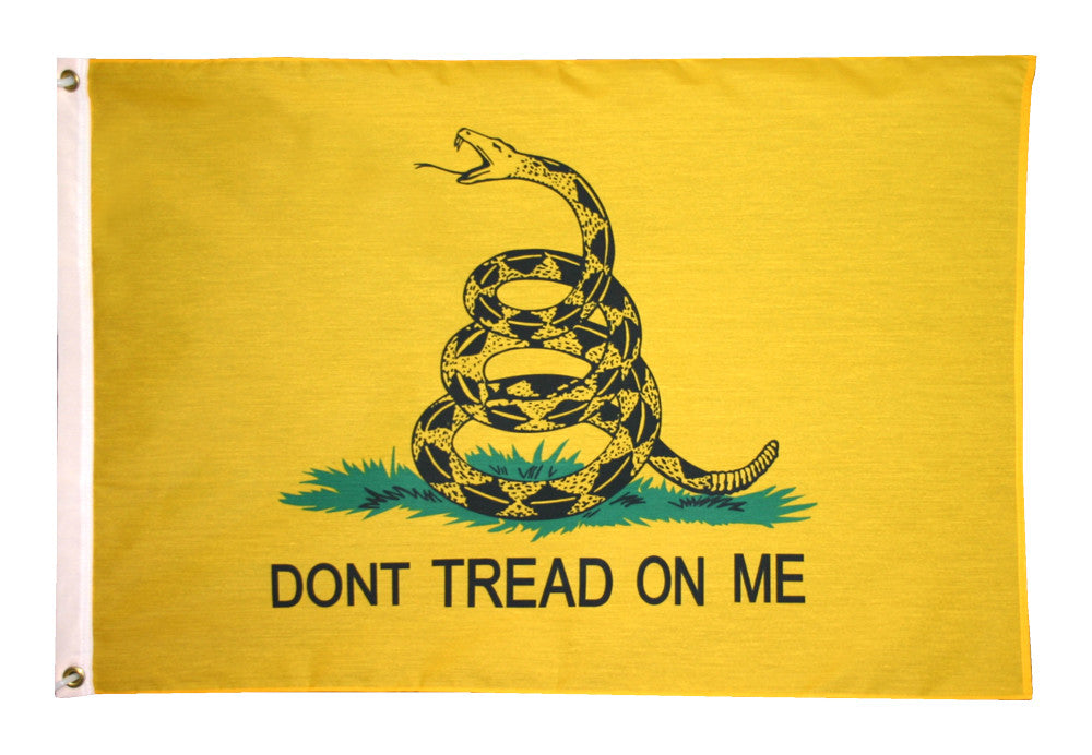 "Gadsden ""Don't Tread On Me"" Flag Nylon - ColorFastFlags 