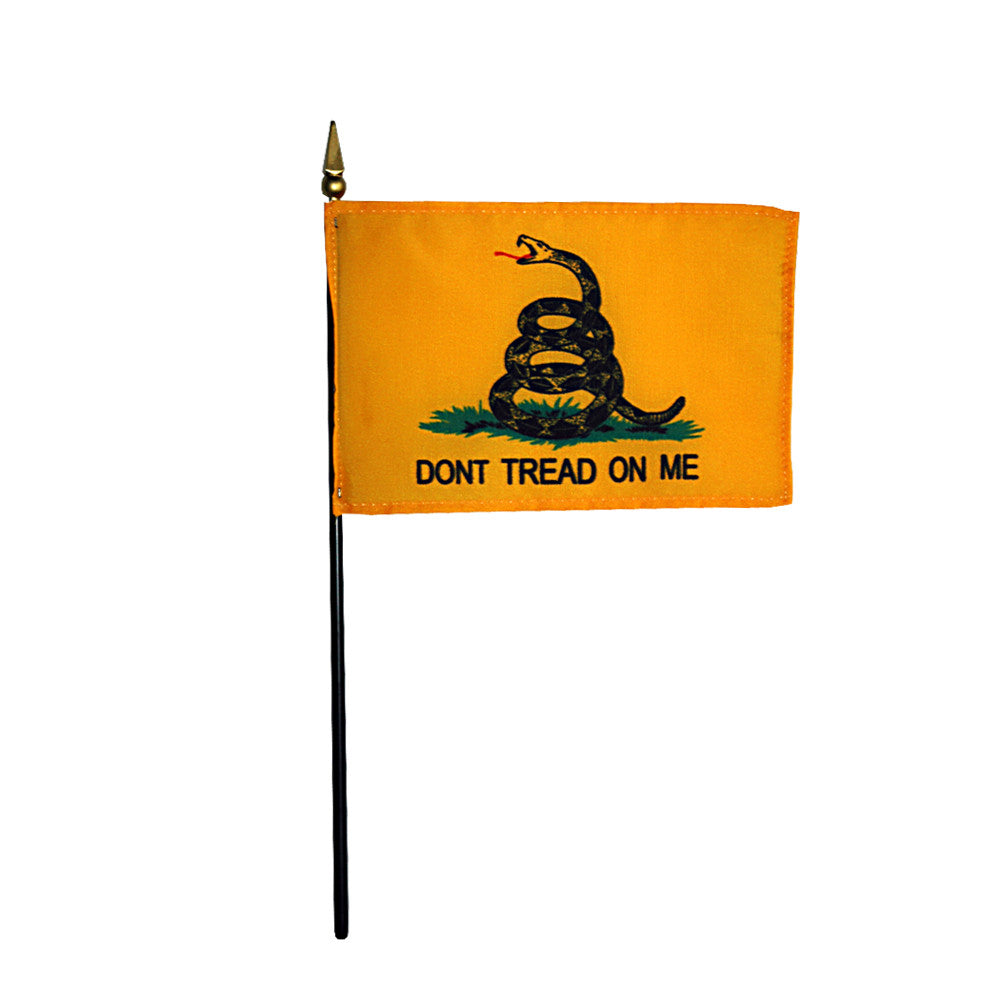 Miniature Gadsden/Tea Party - ColorFastFlags | All the flags you'll ever need!