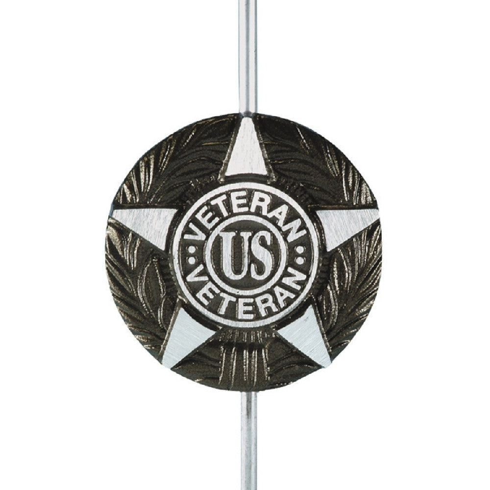Aluminum Grave Marker - General Military for all U.S. Veterans - ColorFastFlags | All the flags you'll ever need!