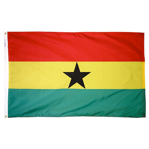 Ghana Flag - ColorFastFlags | All the flags you'll ever need!