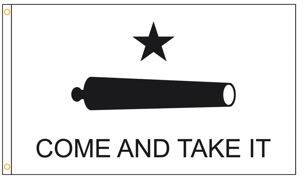 Gonzales (Come and Take It) Flag - ColorFastFlags | All the flags you'll ever need!