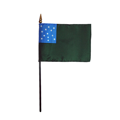 Miniature Green Mountain Boys Flag - ColorFastFlags | All the flags you'll ever need!