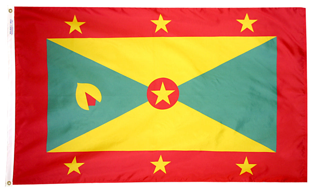 Grenada Flag - ColorFastFlags | All the flags you'll ever need!