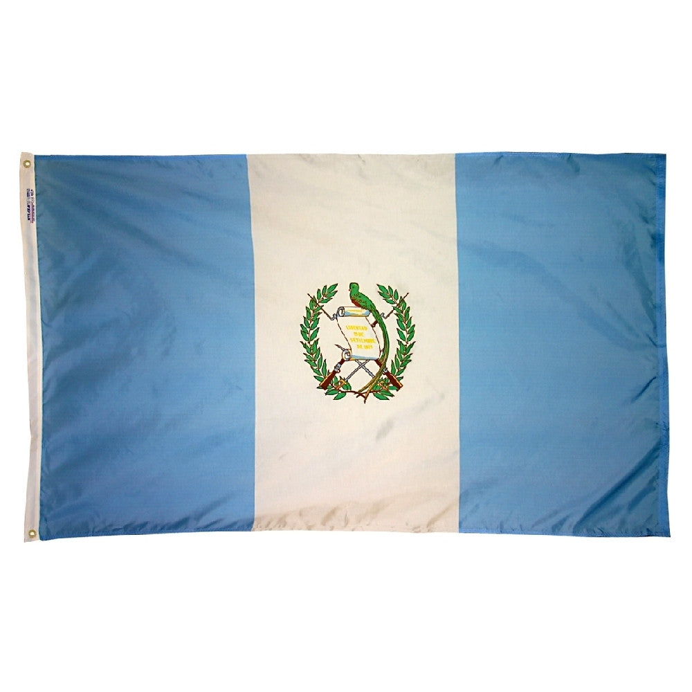 Guatemala Government Flag - ColorFastFlags | All the flags you'll ever need!