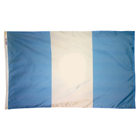 "Guatemala Courtesy Flag 12"" x 18"" - ColorFastFlags 