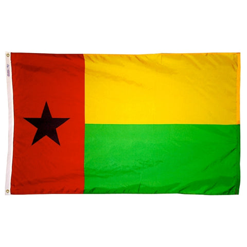 Guinea-Bissau Flag - ColorFastFlags | All the flags you'll ever need!