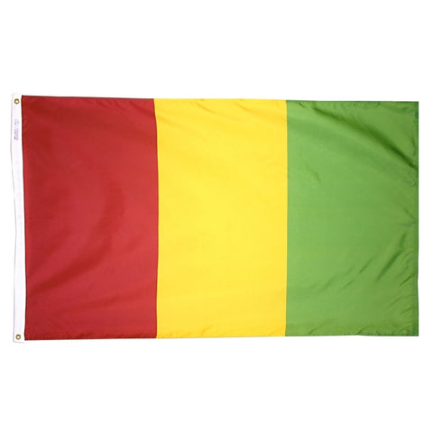 Guinea Flag - ColorFastFlags | All the flags you'll ever need!