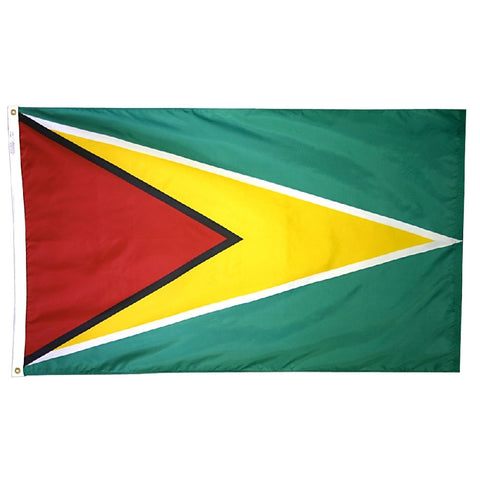 Guyana Flag - ColorFastFlags | All the flags you'll ever need!