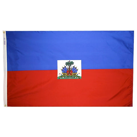Haiti Government Flag - ColorFastFlags | All the flags you'll ever need!