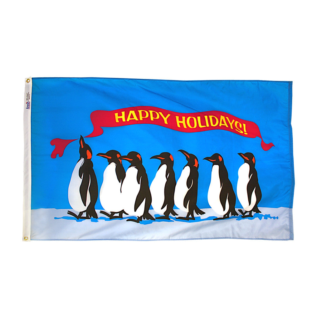 Happy Holidays Flag - ColorFastFlags | All the flags you'll ever need!