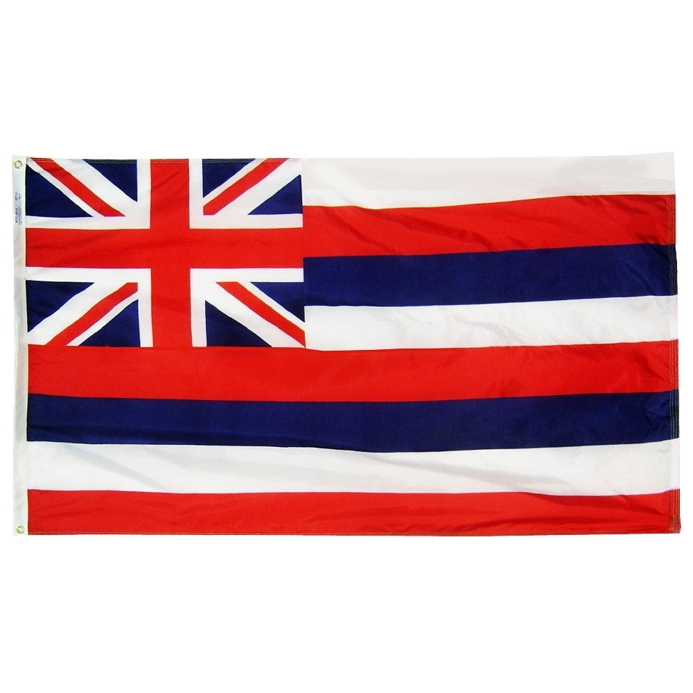 "Hawaii Courtesy Flag 12"" x 18"" - ColorFastFlags 