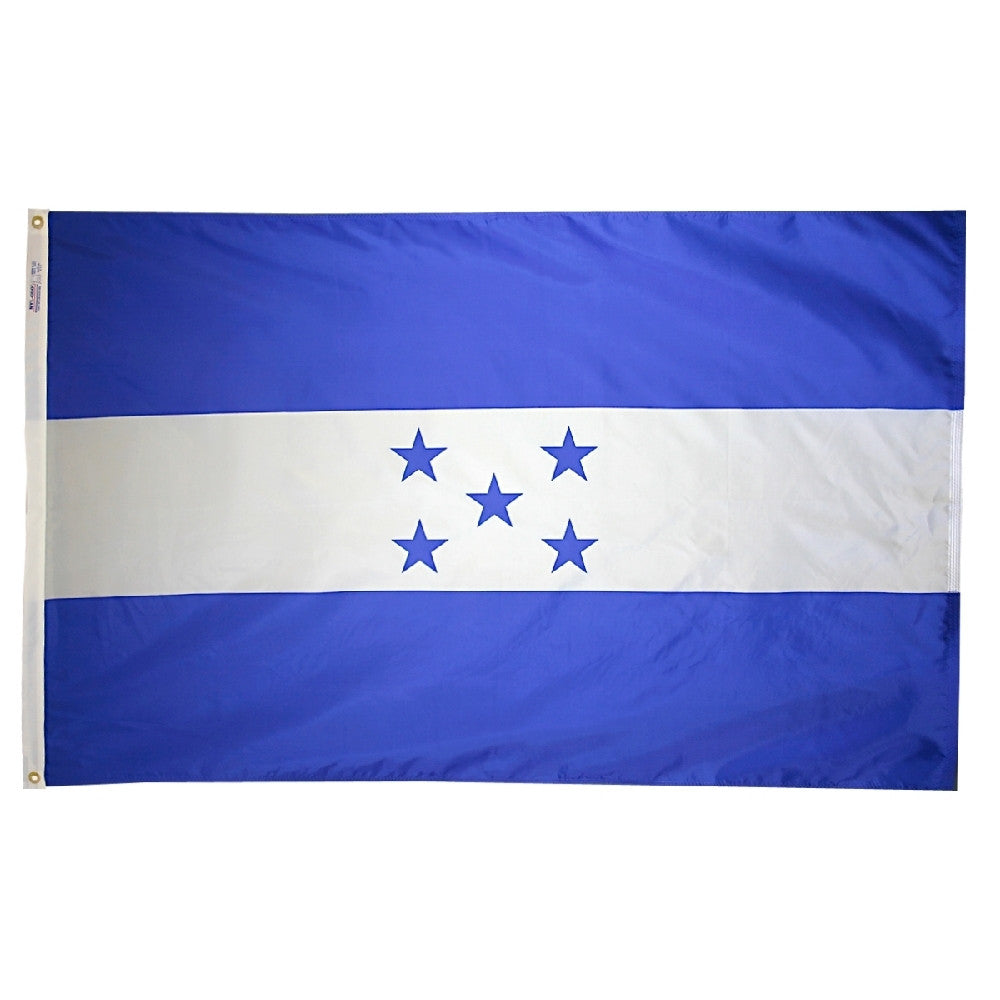 "Honduras Courtesy Flag 12"" x 18"" - ColorFastFlags 