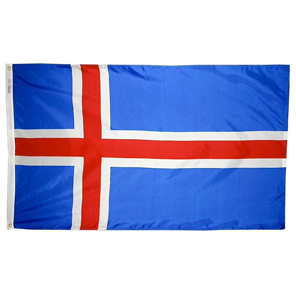 Iceland Flag - ColorFastFlags | All the flags you'll ever need!