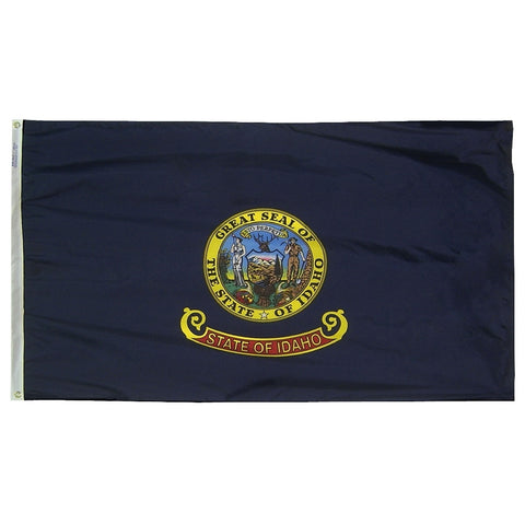 "Idaho Courtesy Flag 12"" x 18"" - ColorFastFlags 