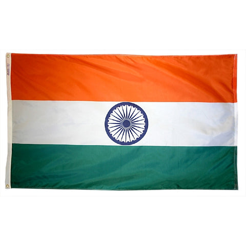 India Flag - ColorFastFlags | All the flags you'll ever need!