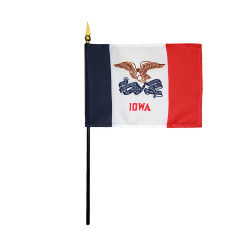 Miniature Flag - Iowa - ColorFastFlags | All the flags you'll ever need!