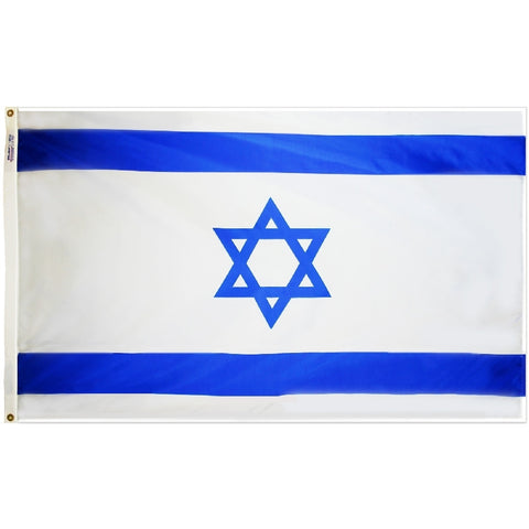 "Israel Courtesy Flag 12"" x 18"""
