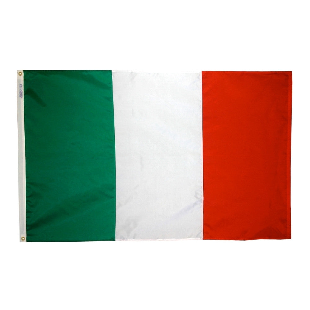 "Italy Courtesy Flag 12"" x 18"" - ColorFastFlags 