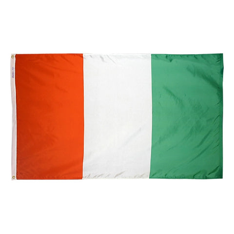 Ivory Coast Flag - ColorFastFlags | All the flags you'll ever need!