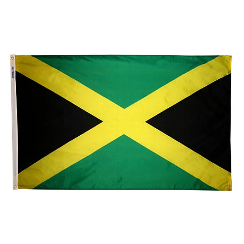 Jamaica Flag - ColorFastFlags | All the flags you'll ever need!