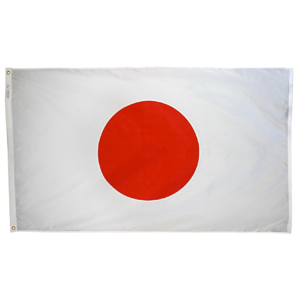 Japan Flag - ColorFastFlags | All the flags you'll ever need!