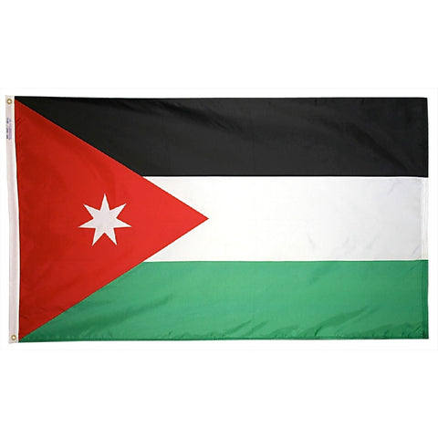 Jordan Flag - ColorFastFlags | All the flags you'll ever need!