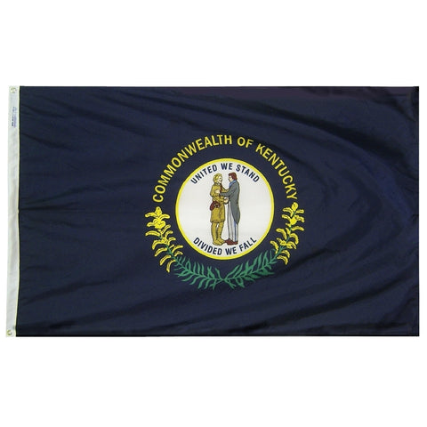 "Kentucky Courtesy Flag 12"" x 18"" - ColorFastFlags 