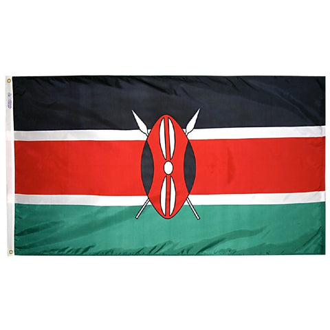 Kenya Flag - ColorFastFlags | All the flags you'll ever need!