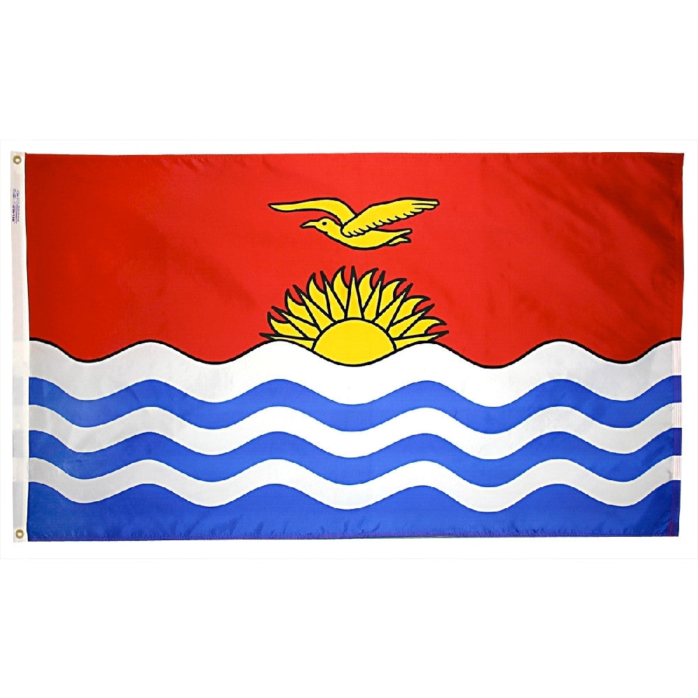 Kiribati Flag - ColorFastFlags | All the flags you'll ever need!