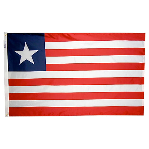 Liberia Flag - ColorFastFlags | All the flags you'll ever need!