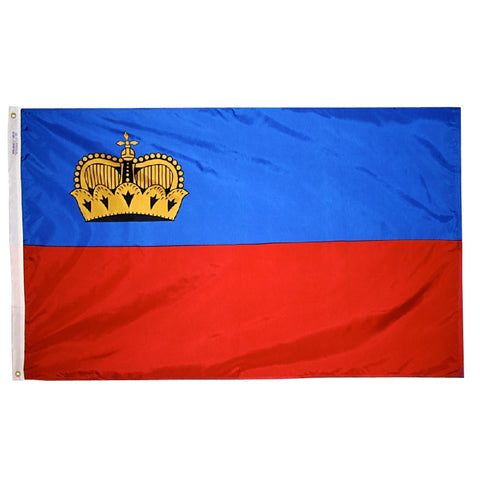 Liechtenstein Flag - ColorFastFlags | All the flags you'll ever need!