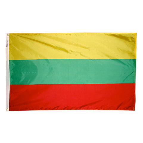 Lithuania Flag - ColorFastFlags | All the flags you'll ever need!