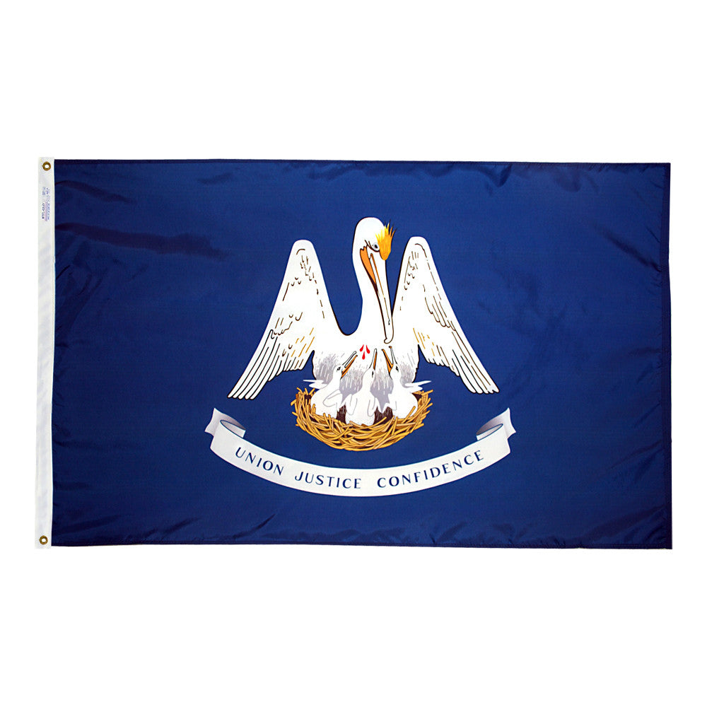 Louisiana State Flags - ColorFastFlags | All the flags you'll ever need!