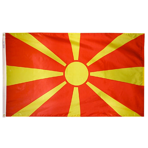 Macedonia Flag - ColorFastFlags | All the flags you'll ever need!