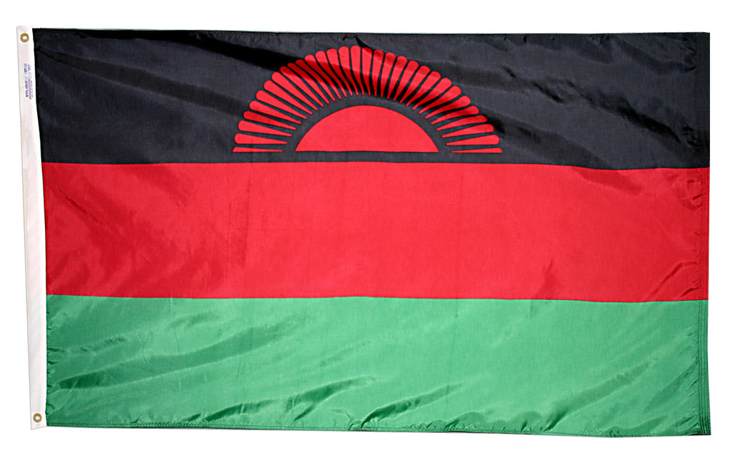 Malawi Flag - ColorFastFlags | All the flags you'll ever need!