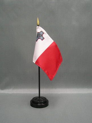 Miniature Malta Flag - ColorFastFlags | All the flags you'll ever need!
