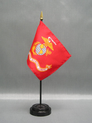 Miniature Marine Corps Flag - ColorFastFlags | All the flags you'll ever need!