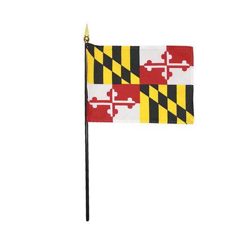 Miniature Flag - Maryland - ColorFastFlags | All the flags you'll ever need!