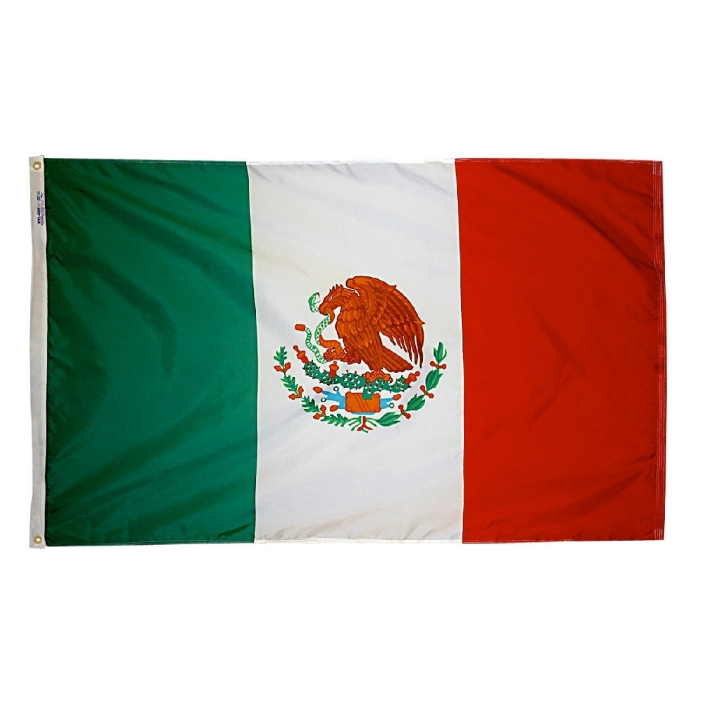 "Mexico Courtesy Flag 12"" x 18"" - ColorFastFlags 