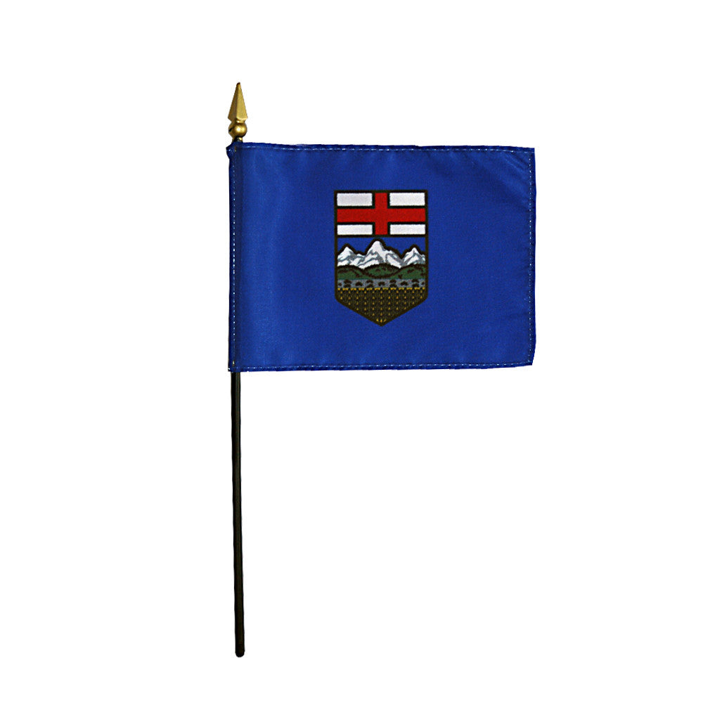 Miniature Alberta Flag - ColorFastFlags | All the flags you'll ever need!