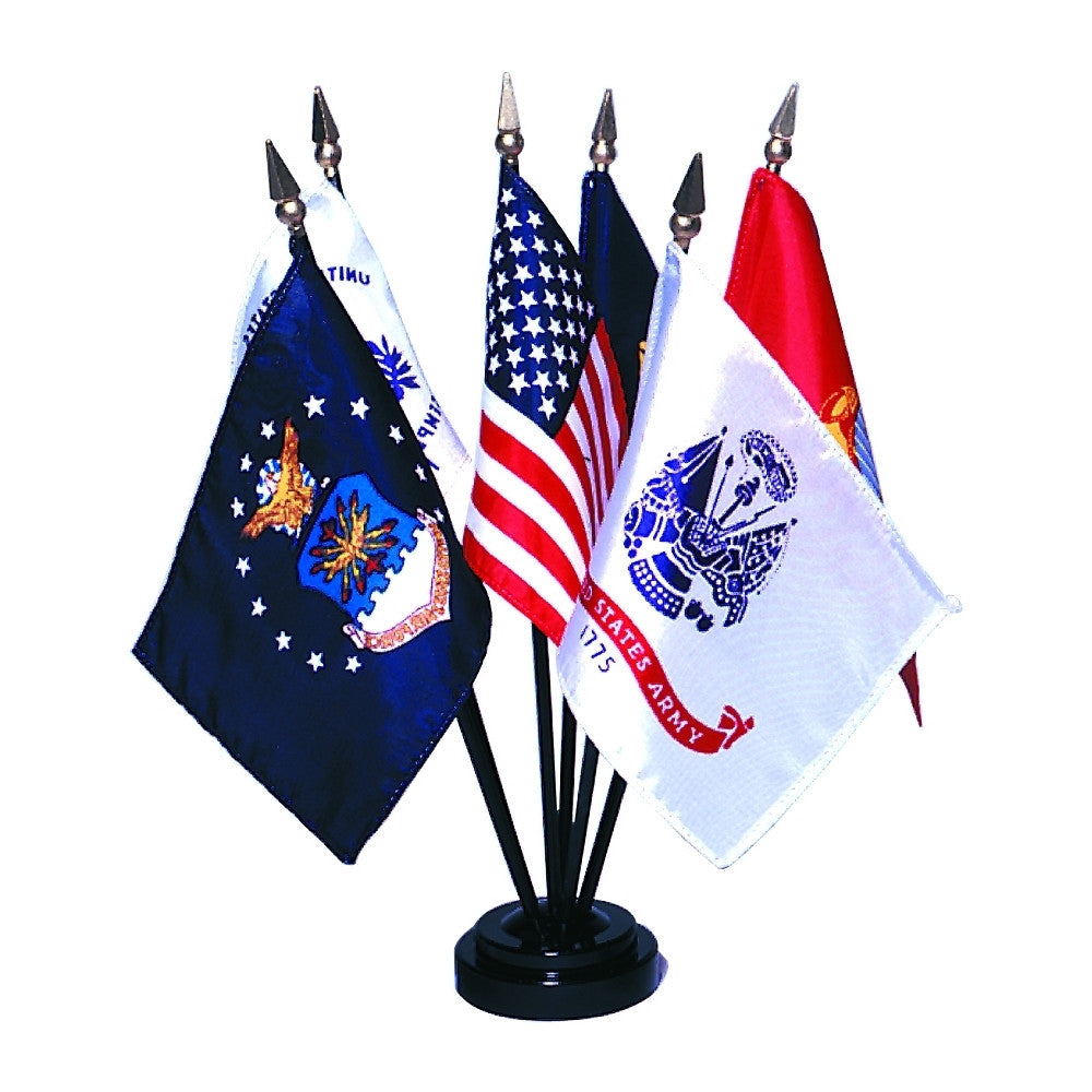 Miniature Armed Forces Flag Set - ColorFastFlags | All the flags you'll ever need!