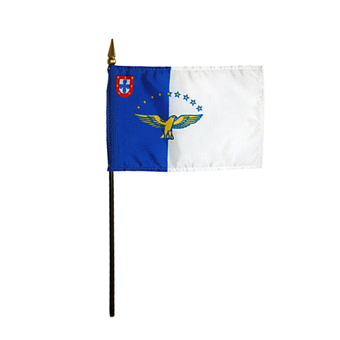 Miniature Azores Flag - ColorFastFlags | All the flags you'll ever need!