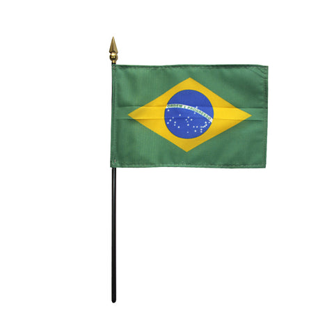 Miniature Brazil Flag - ColorFastFlags | All the flags you'll ever need!