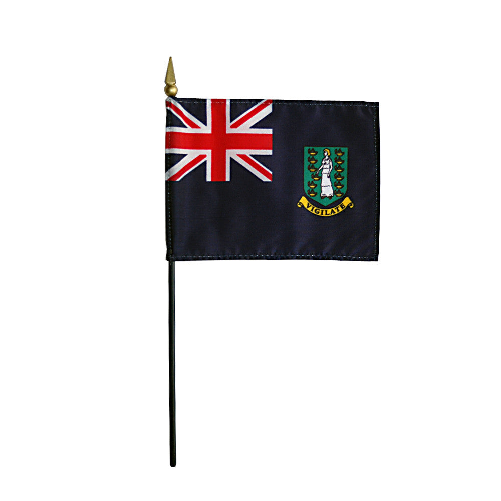 Miniature British Virgin Islands Flag - ColorFastFlags | All the flags you'll ever need!
